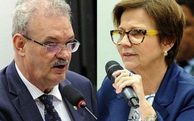 Geraldo e Tereza declaram voto favorável à reforma da previdência