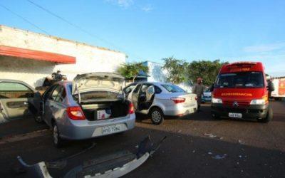 Motorista passa mal e se envolve em colisão na avenida Tamandaré