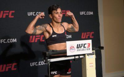 Jéssica Bate-Estaca e Tecia Torres batem o peso e confirmam luta em Orlando