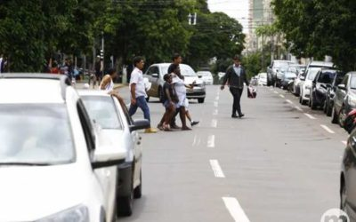 Pedestres poderão ser multados nas ruas de Campo Grande a partir de abril